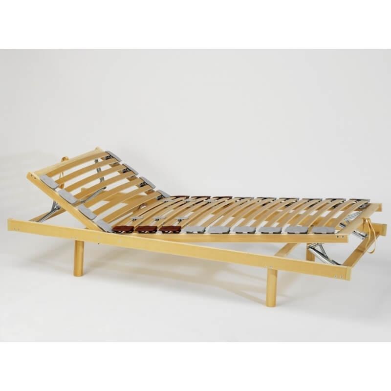 sommier de relaxation manuel tetraflex matelpro. Black Bedroom Furniture Sets. Home Design Ideas