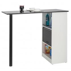 Table comptoir de cuisine contemporaine Rudie