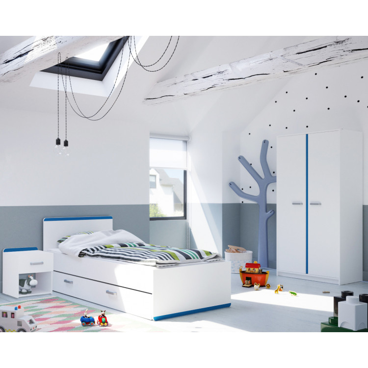 Chambre enfant moderne blanche Riga