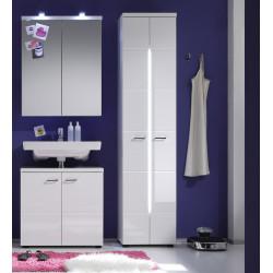 Ensemble de salle de bain moderne blanc Blondie