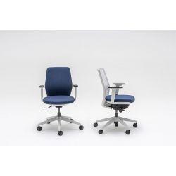 Chaise de bureau moderne avec accoudoirs Hector
