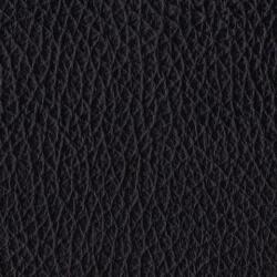 Fauteuil de relaxation cuir électrique releveur avec repose-pieds intégré SCOOP-Noir