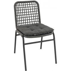Chaise de restaurant pour extérieur (lot de 4) empilable Céline