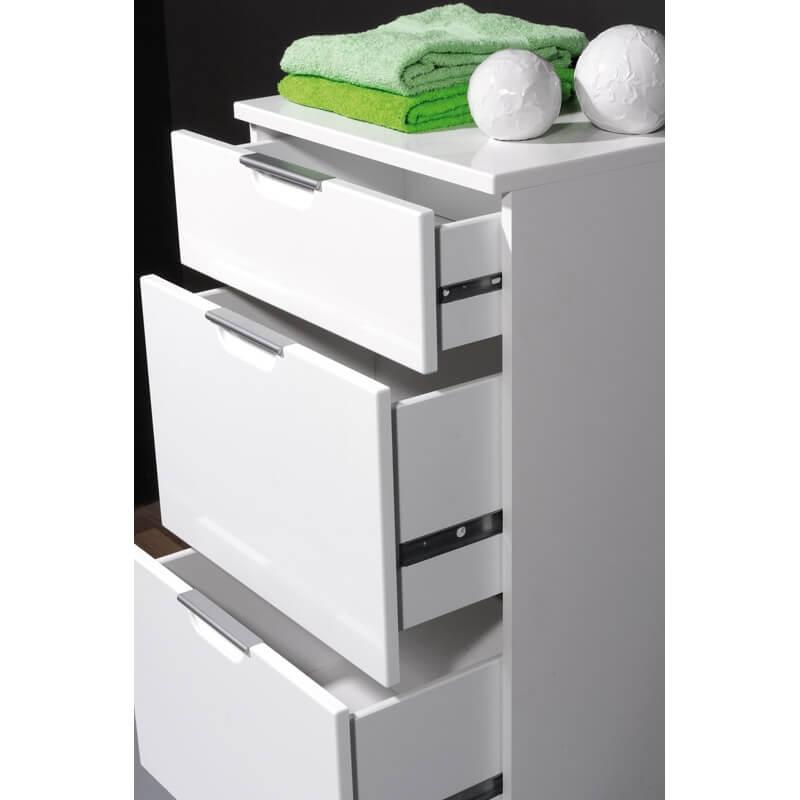 meuble bas de salle de bain contemporain 3 tiroirs nashville. Black Bedroom Furniture Sets. Home Design Ideas