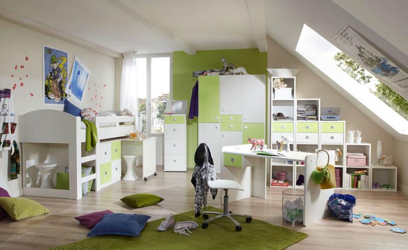 chambre enfant contemporaine