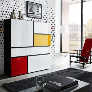 Un meuble de rangement aux lignes design pour un intrieurhellip
