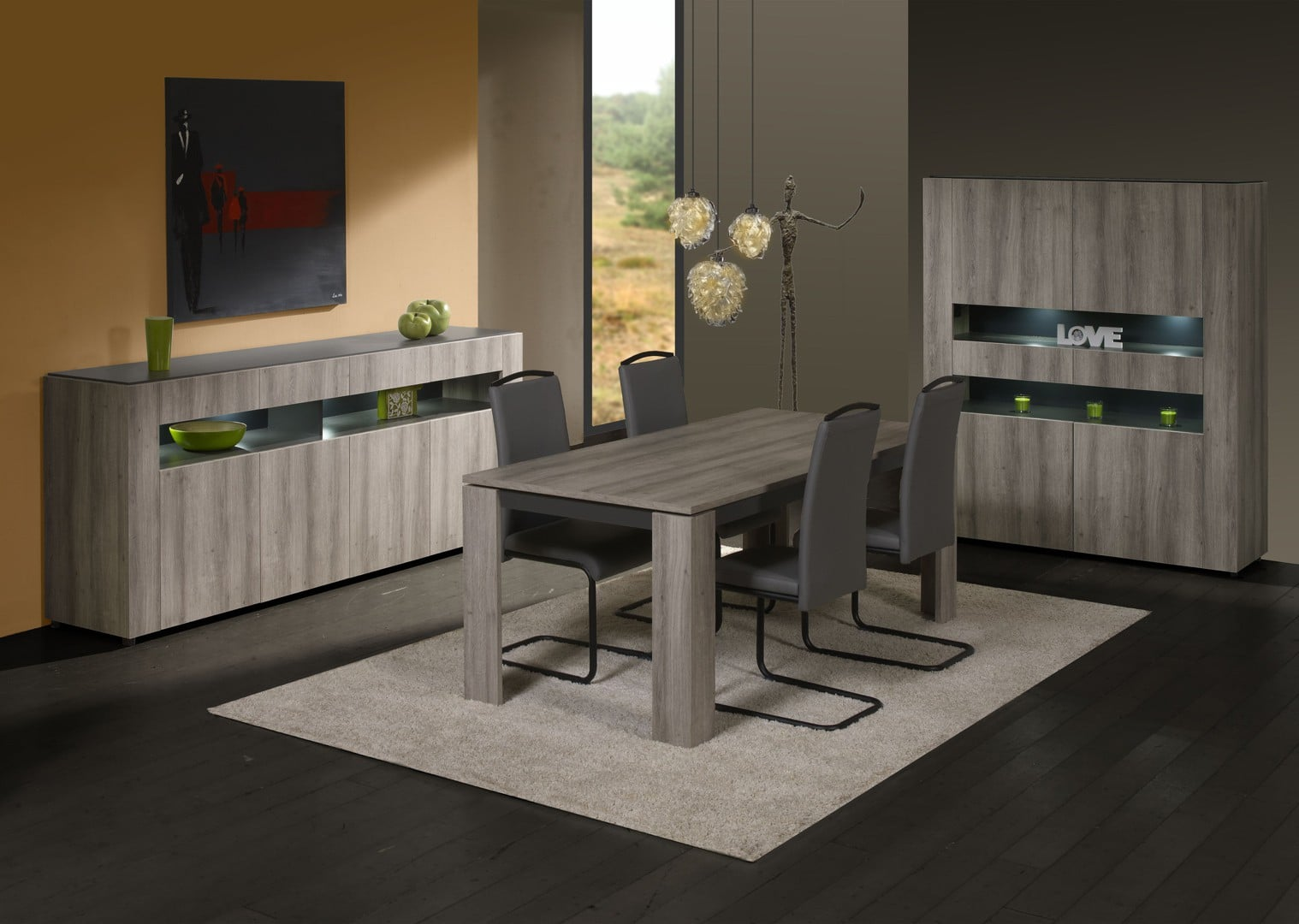 moderniser votre int rieur gr ce une salle manger design le blog matelpro. Black Bedroom Furniture Sets. Home Design Ideas