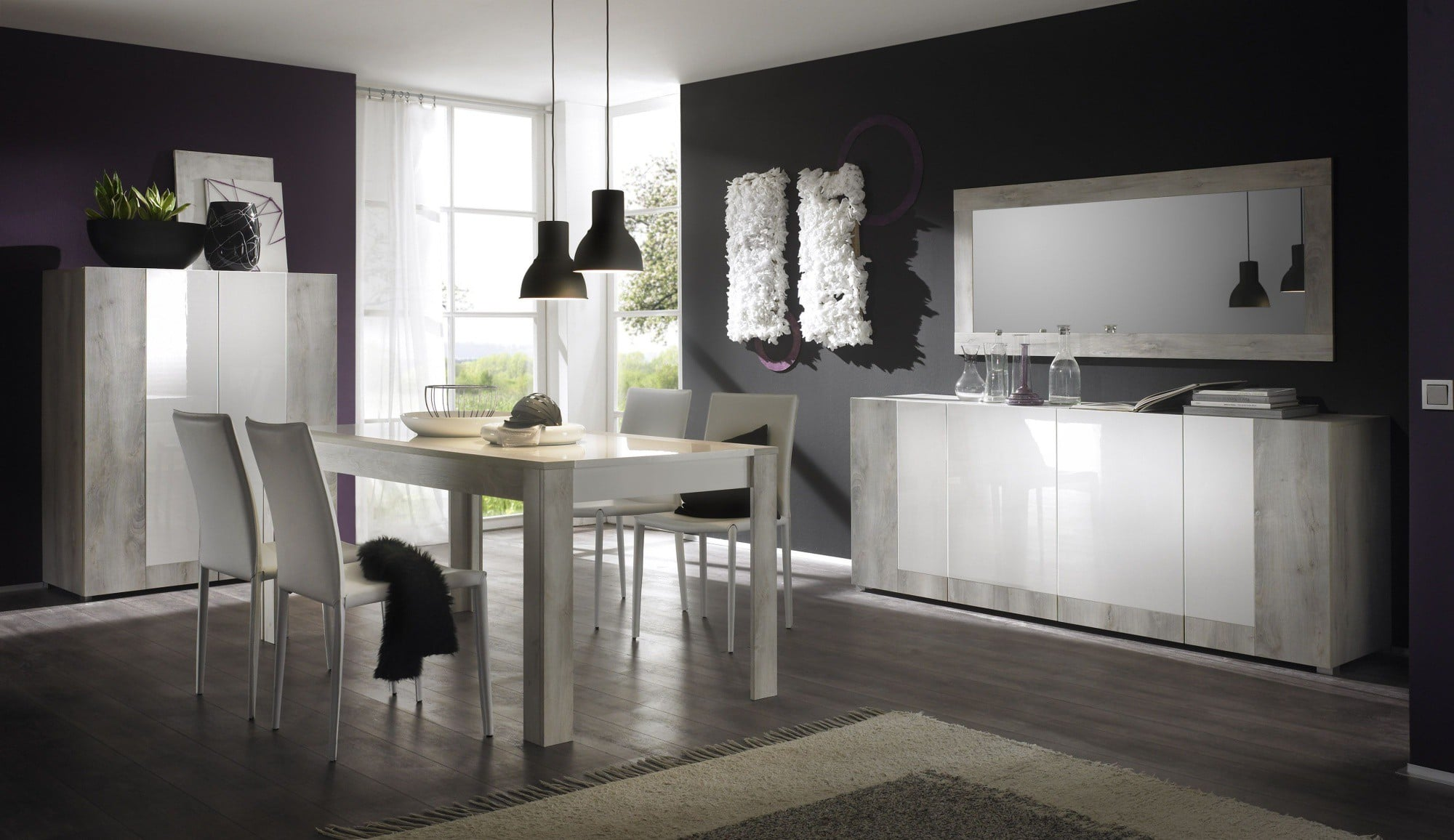 Top 4 de nos salles manger design le blog matelpro for Salle a manger contemporaine gris clair