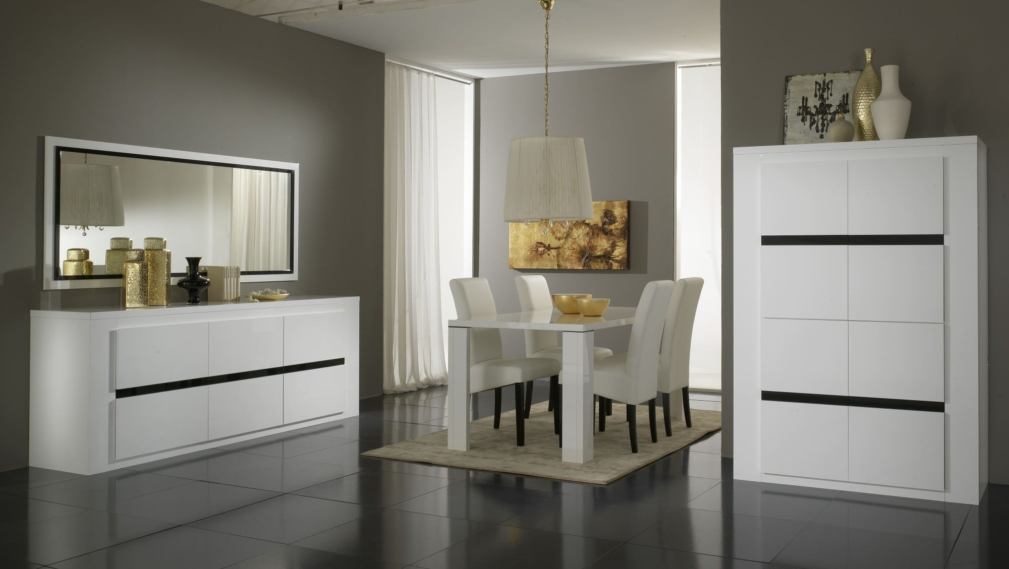 top 4 de nos salles manger design le blog matelpro. Black Bedroom Furniture Sets. Home Design Ideas