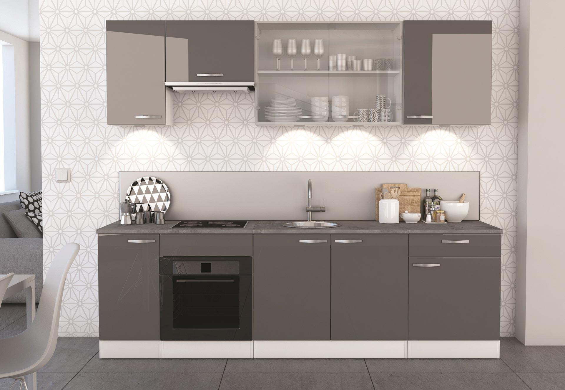 Finest meuble cuisine avec tiroir coulissant meuble for Interieur placard cuisine