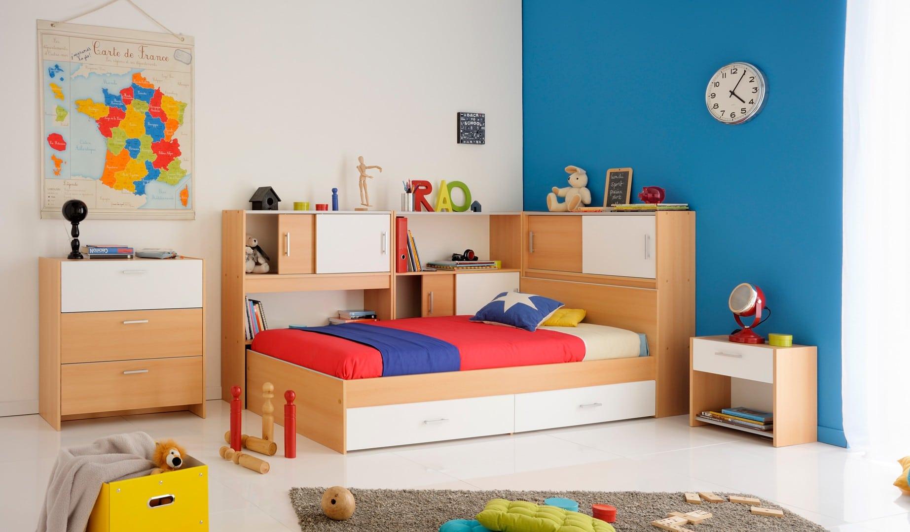 une chambre enfant compl te pour bien d buter la rentr e des classes le blog matelpro. Black Bedroom Furniture Sets. Home Design Ideas