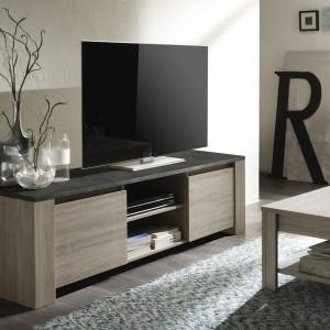 Contemporain ce meuble tv trouera sa place dans votre salonhellip