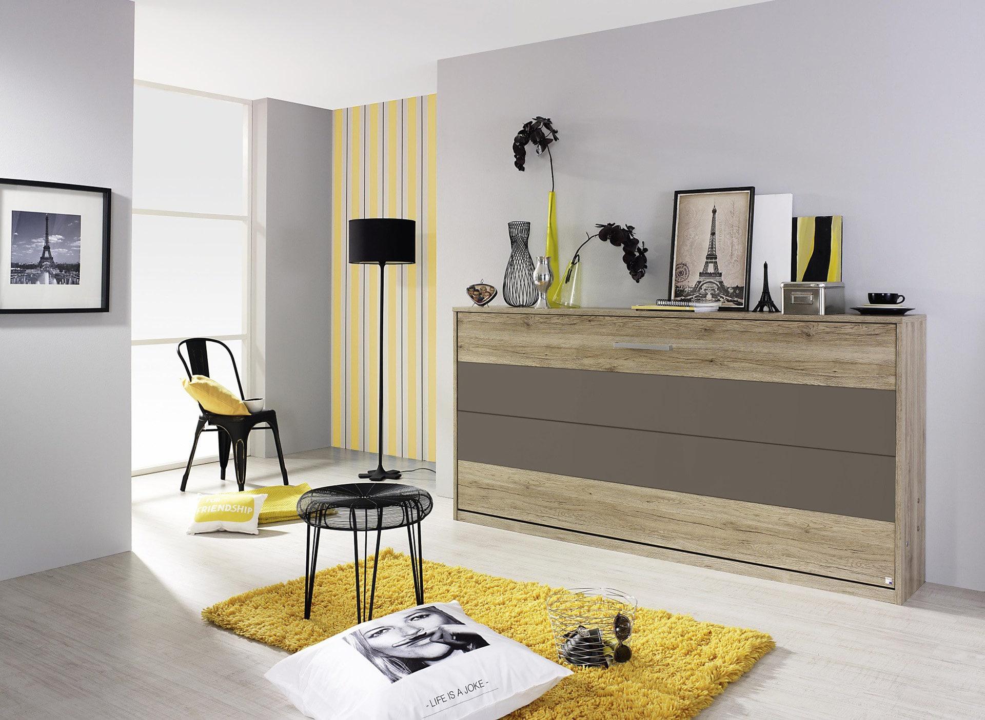 l 39 armoire lit solution id ale des mini espaces le blog matelpro. Black Bedroom Furniture Sets. Home Design Ideas