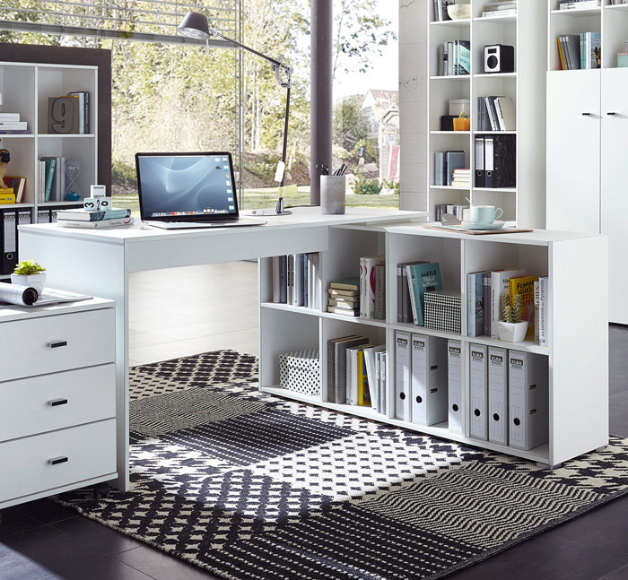 le bureau un espace ne pas n gliger le blog matelpro. Black Bedroom Furniture Sets. Home Design Ideas