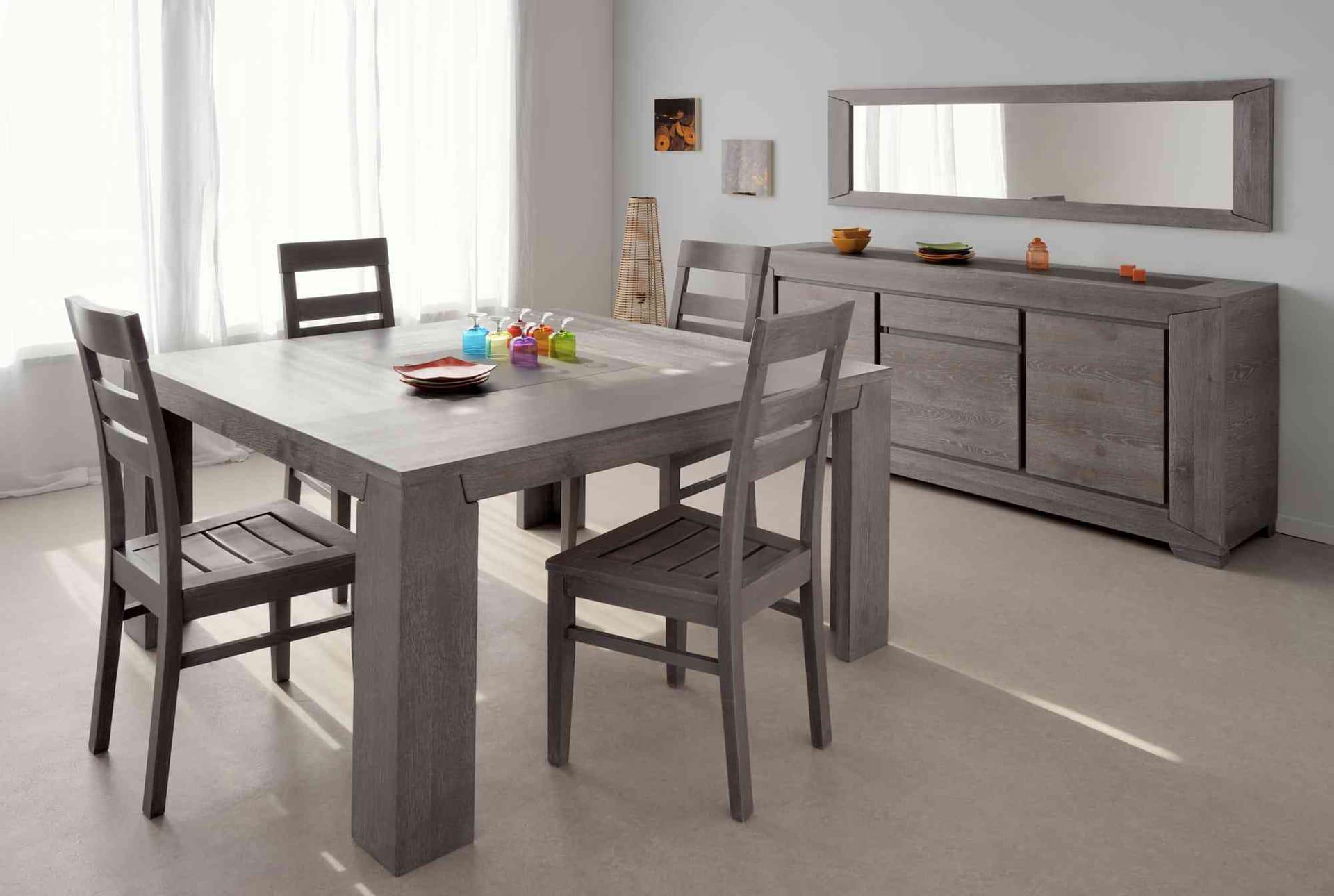le miroir dans la salle manger effet visuel garanti. Black Bedroom Furniture Sets. Home Design Ideas