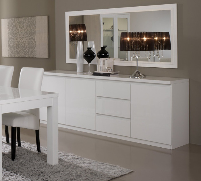 le miroir dans la salle manger effet visuel garanti le blog matelpro. Black Bedroom Furniture Sets. Home Design Ideas