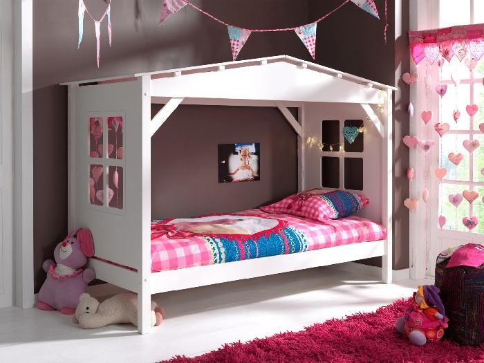lit cabane pour filles