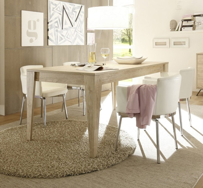 trouvez la table de salle manger qui vous correspond le blog matelpro. Black Bedroom Furniture Sets. Home Design Ideas