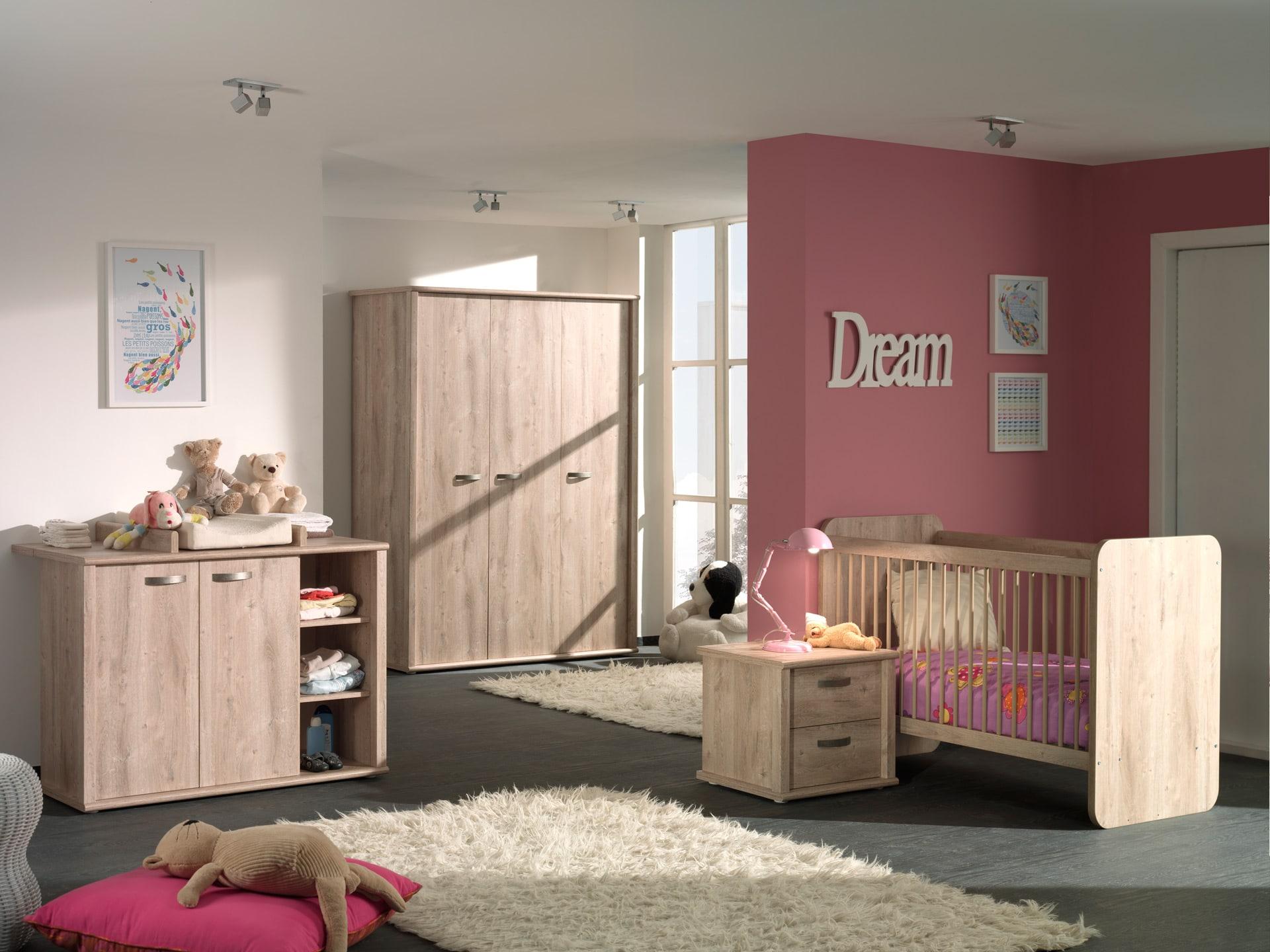 une chambre pour b b pratique et chaleureuse blog matelpro. Black Bedroom Furniture Sets. Home Design Ideas