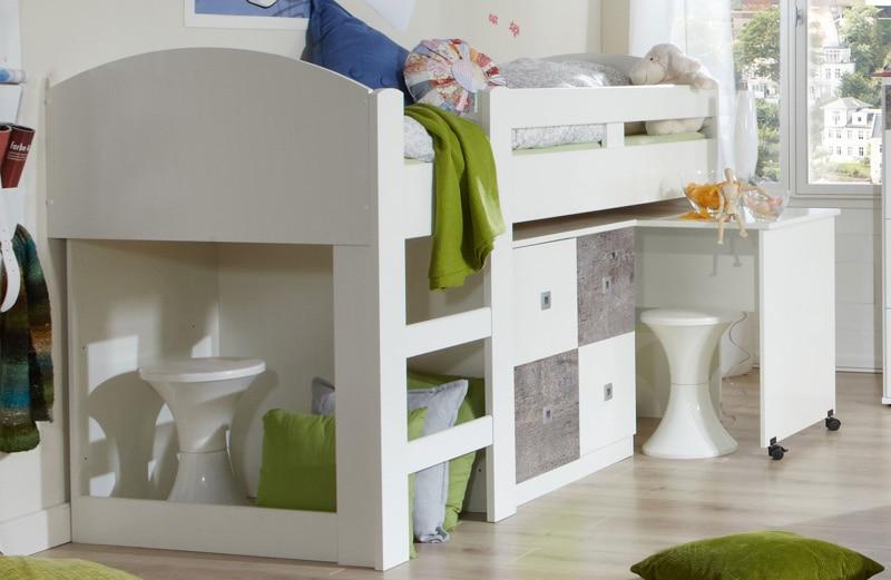 le lit combin id al pour les petites chambres le blog matelpro. Black Bedroom Furniture Sets. Home Design Ideas