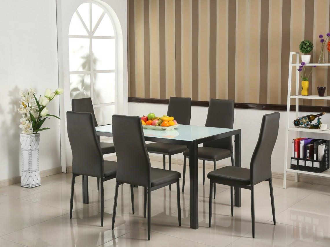 ensemble table et chaises pour la cuisine