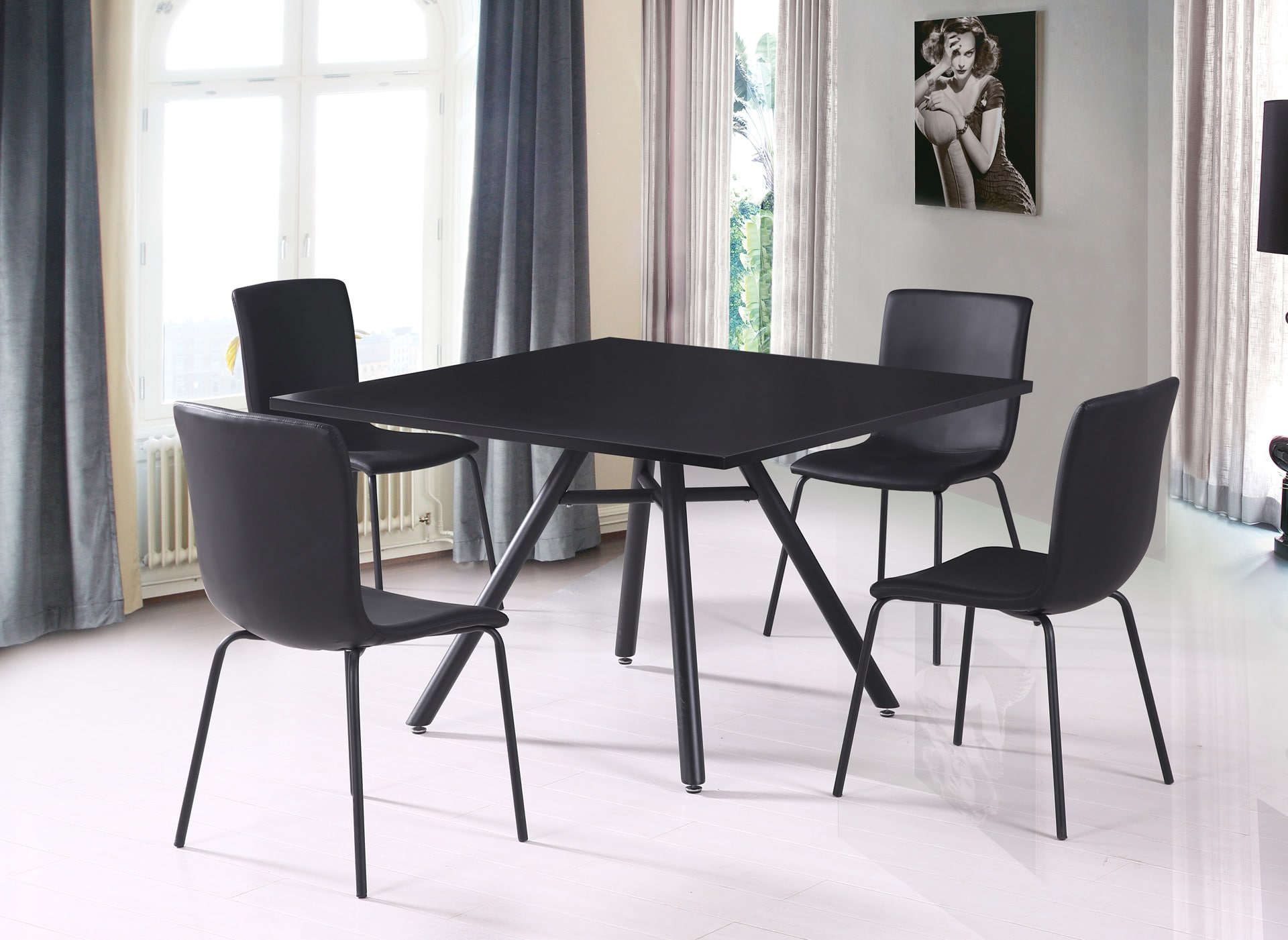 zoom sur la chaise de salle manger le blog matelpro. Black Bedroom Furniture Sets. Home Design Ideas