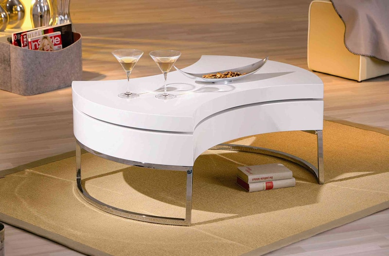 table-basse-design-blanche
