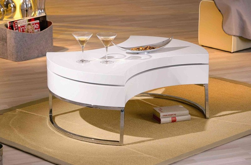 table-basse-design-blanche