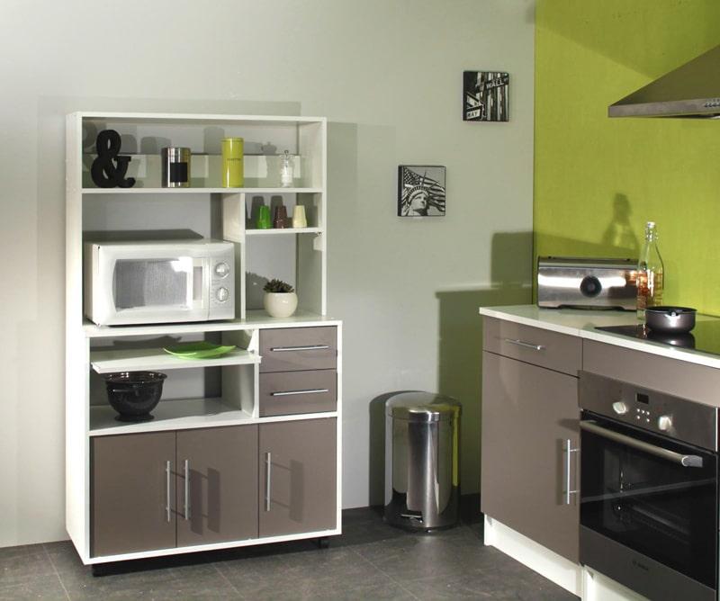 meubles de cuisine laqués design