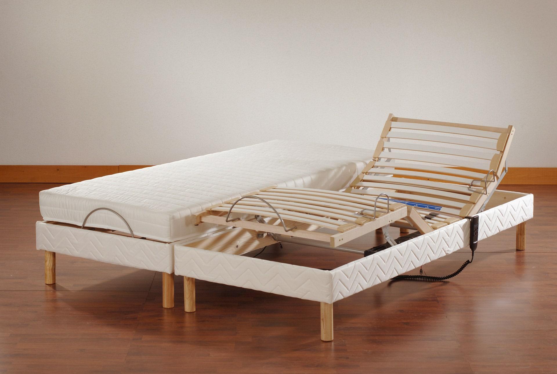 literie en soldes matelas et sommier prix r duits. Black Bedroom Furniture Sets. Home Design Ideas