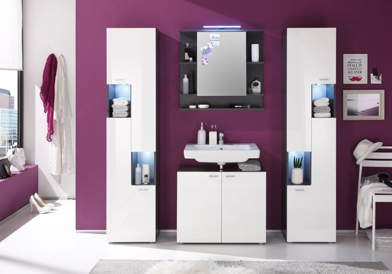 Un ensemble de salle de bain personnalisé