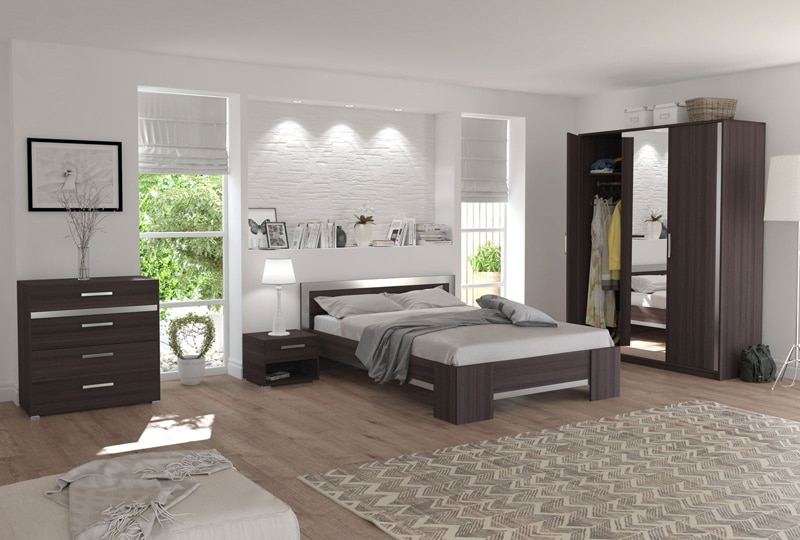 des meubles de chambres à coucher