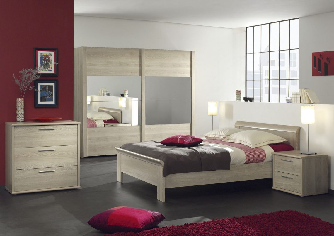 chambre adulte contemporaine