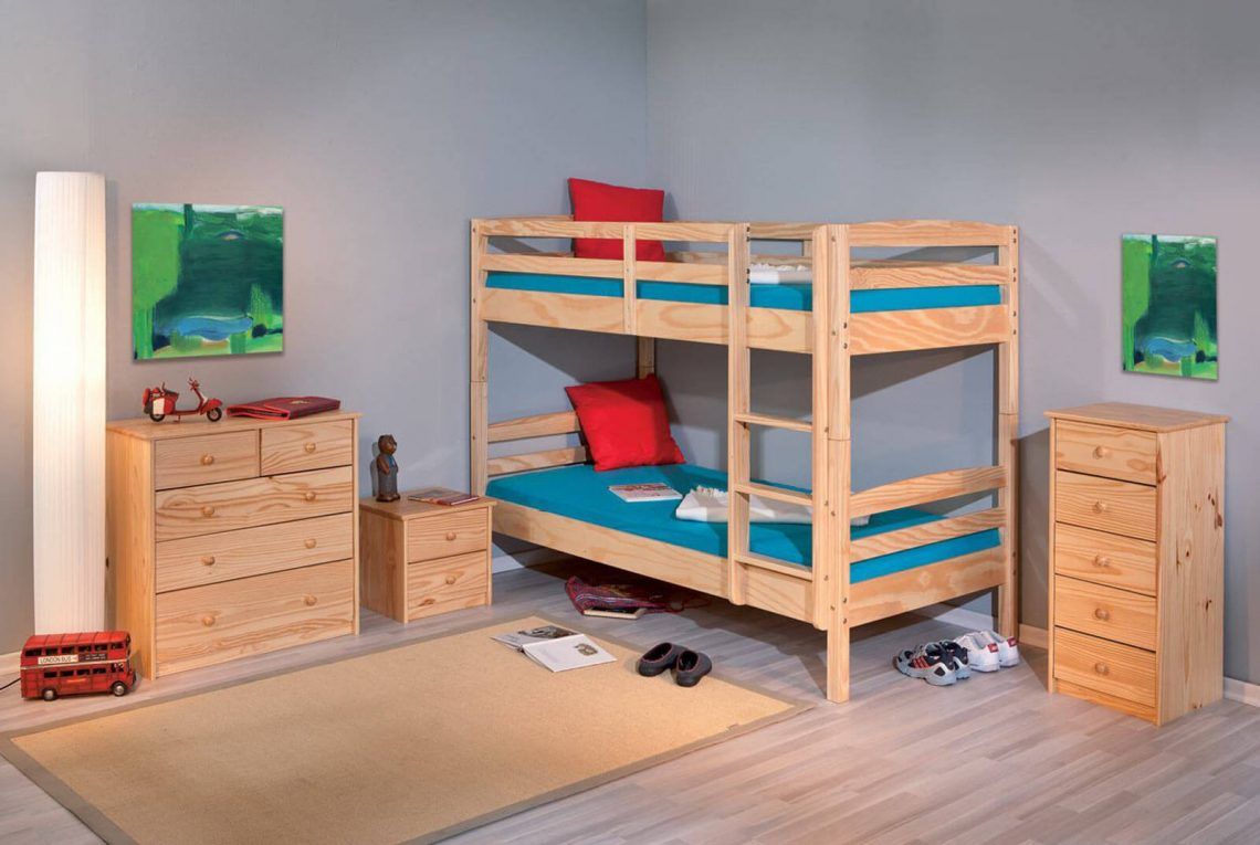 lits superposés contemporains
